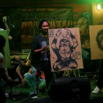Fundraising Artwork Auction at Suara untuk Alam II. Photo by Vifick Bolang.